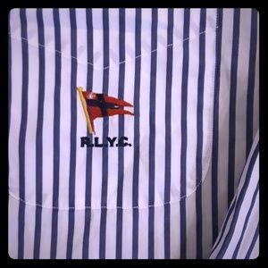 Striped flag Polo Ralph Lauren shirt SIZE XXL